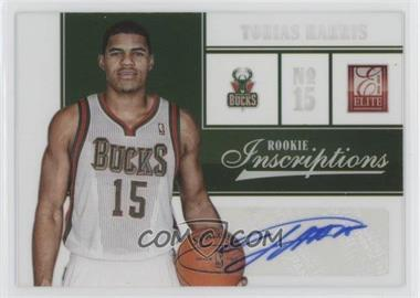 2012-13 Elite - Rookie Inscriptions #42 - Tobias Harris