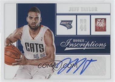 2012-13 Elite - Rookie Inscriptions #65 - Jeff Taylor
