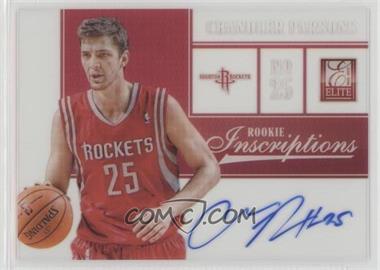 2012-13 Elite - Rookie Inscriptions #7 - Chandler Parsons