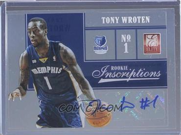 2012-13 Elite - Rookie Inscriptions #73 - Tony Wroten