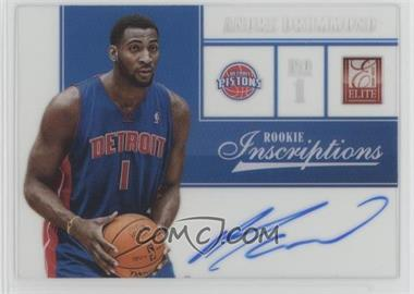 2012-13 Elite - Rookie Inscriptions #75 - Andre Drummond