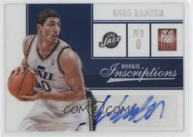 2012-13 Elite - Rookie Inscriptions #82 - Enes Kanter