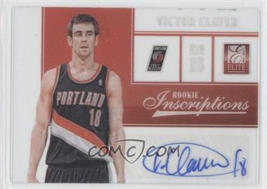 2012-13 Elite - Rookie Inscriptions #97 - Victor Claver