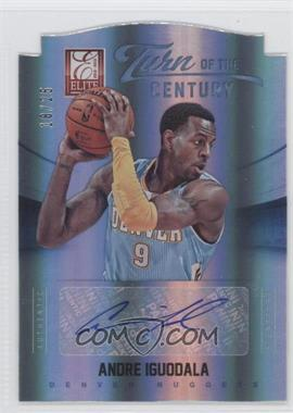 2012-13 Elite - Turn of the Century Die-Cut Autographs #23 - Andre Iguodala /25