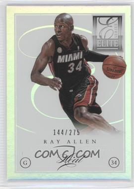 2012-13 Elite Series - [Base] #102 - Ray Allen /275