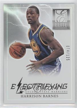 2012-13 Elite Series - Electrifying #8 - Harrison Barnes /125