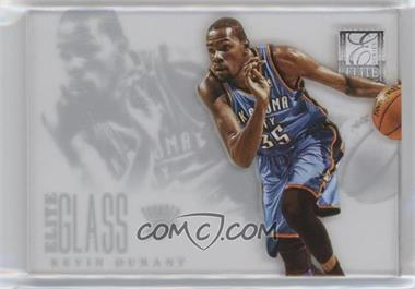 2012-13 Elite Series - Elite Glass #4 - Kevin Durant