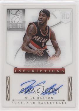 2012-13 Elite Series - Rookie Inscriptions #42 - Will Barton