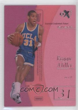 2012-13 Fleer Retro - 1997-98 Fleer EX 2001 Essential Credentials Future #EX-2 - Reggie Miller /41