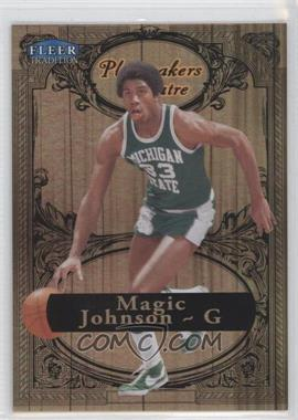2012-13 Fleer Retro - 1998-99 Fleer Tradition Playmakers Theater #12 PT - Magic Johnson /100