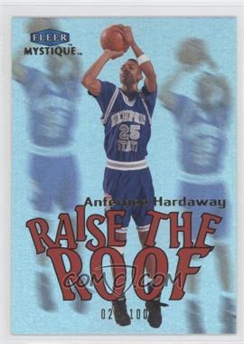 2012-13 Fleer Retro - 1999-00 Fleer Mystique Raise the Roof #18 RR - Anfernee Hardaway /100