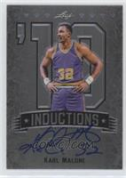 Karl Malone [Noted] #/50