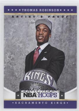 2012-13 NBA Hoops - [Base] - Black Artist's Proof #279 - Thomas Robinson /1