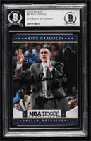 Rick Carlisle [BAS Certified Encased by BGS]
