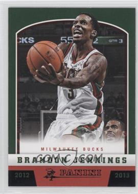 2012-13 Panini - [Base] - Black Knight #23 - Brandon Jennings /10