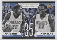 Kenneth Faried, Kevin Durant