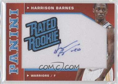 2012-13 Panini - Rated Rookie Signatures #6 - Harrison Barnes /48