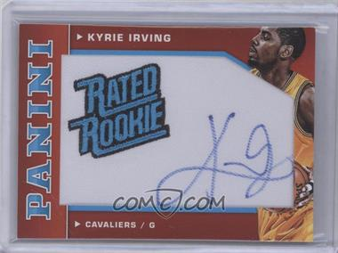 2012-13 Panini - Rated Rookie Signatures #71 - Kyrie Irving /49