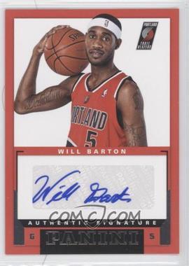 2012-13 Panini - Rookie Signatures #48 - Will Barton