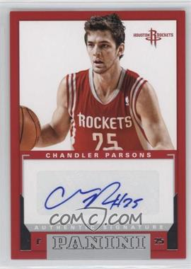 2012-13 Panini - Rookie Signatures #5 - Chandler Parsons