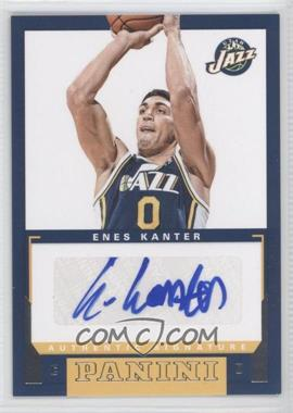 2012-13 Panini - Rookie Signatures #54 - Enes Kanter