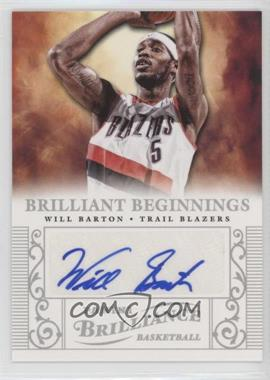 2012-13 Panini Brilliance - Brilliant Beginnings Autographs - [Autographed] #58 - Will Barton
