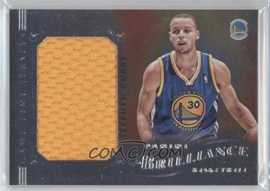 2012-13 Panini Brilliance - Game Time Jerseys #3 - Stephen Curry