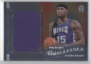 2012-13 Panini Brilliance - Game Time Jerseys #44 - DeMarcus Cousins