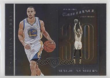 2012-13 Panini Brilliance - Magic Numbers #14 - Stephen Curry