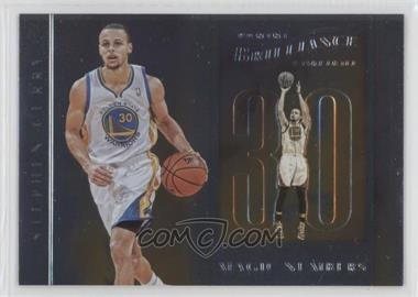 2012-13 Panini Brilliance - Magic Numbers #14 - Stephen Curry