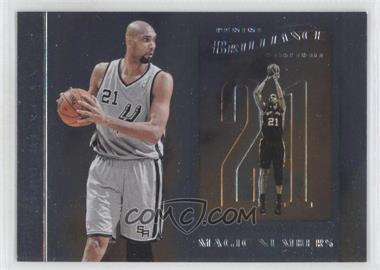 2012-13 Panini Brilliance - Magic Numbers #9 - Tim Duncan