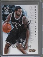 Deron Williams [JSA Certified Auto]
