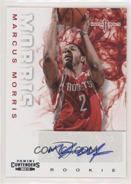 2012-13 Panini Contenders - [Base] #264 - Marcus Morris