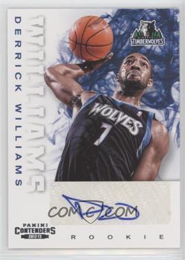 2012-13 Panini Contenders - [Base] #275 - Derrick Williams