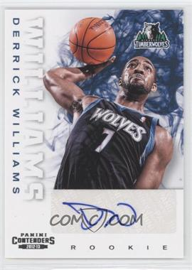 2012-13 Panini Contenders - [Base] #275 - Derrick Williams