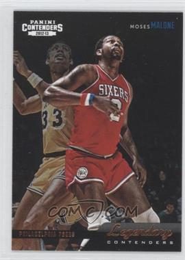 2012-13 Panini Contenders - Legendary Contenders #2 - Moses Malone