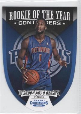2012-13 Panini Contenders - Rookie of the Year Contenders #1 - Andre Drummond