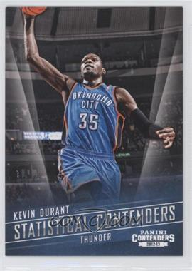 2012-13 Panini Contenders - Statistical Contenders #3 - Kevin Durant