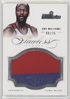 Gus Williams #/25