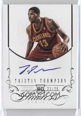 2012-13 Panini Flawless - Rookie Autographs #22 - Tristan Thompson /25