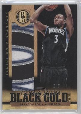 2012-13 Panini Gold Standard - Black Gold Threads - Prime #48 - Brandon Roy /5