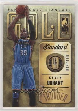 2012-13 Panini Gold Standard - Gold Standard #12 - Kevin Durant /199