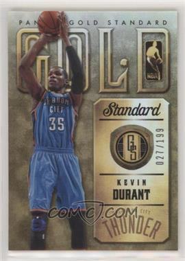 2012-13 Panini Gold Standard - Gold Standard #12 - Kevin Durant /199