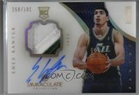 Rookie Patch Autograph - Enes Kanter #/100