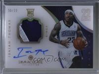 Rookie Patch Autograph - Isaiah Thomas [Noted] #/22