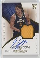Rookie Patch Autograph - Enes Kanter #/99