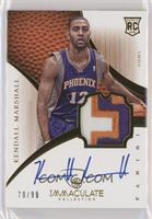 Rookie Patch Autograph - Kendall Marshall #/99