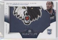 Derrick Williams /31
