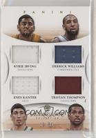 Derrick Williams, Enes Kanter, Tristan Thompson, Kyrie Irving #/50
