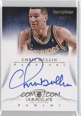 2012-13 Panini Immaculate Collection - Inscriptions #IN-CM - Chris Mullin /99